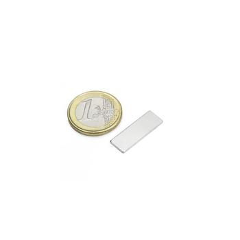 Supermagnet Kub 25x8x1 mm av neodymium N48