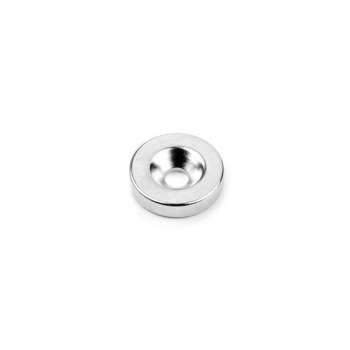 Countersunkmagnet Ring 18x4 mm.