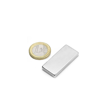 Supermagnet, Kub 40x18x5 mm av neodymium