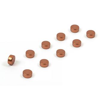 Kopparmagneter 6x3 mm. från Trendform.