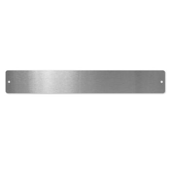 Magnetlist i stål 50 x 350 mm.