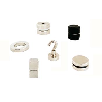 Testa neodymmagneter med styrkan 5-10 kg.