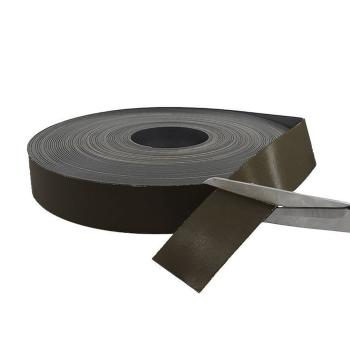 Magnetband grått 40 mm. x 1 mm.styrka ca. 100 gram/cm2.