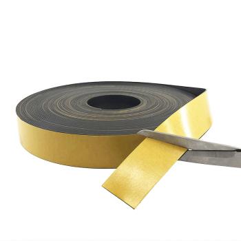 Självhäftande magnetband grått  (40 mm.)