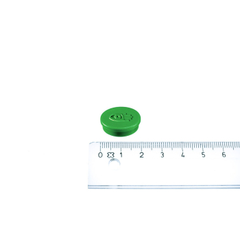 Legamaster magnet grön ø20 mm.