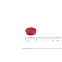 Legamaster magnet röd ø20 mm.