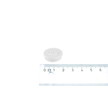 Legamaster magnet svart ø20 mm.