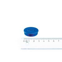 Legamaster magnet blå ø30 mm.