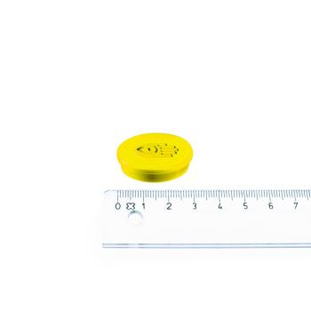 Legamaster magnet gul ø30 mm.