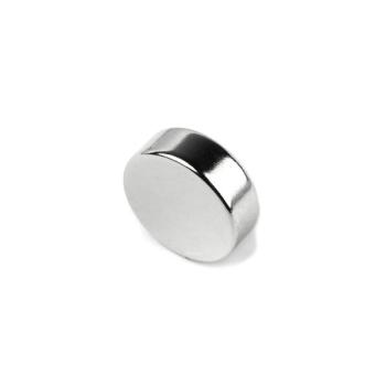 Supermagnet 20x9 mm. av neodymium N42 med styrka 10 kg