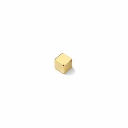Supermagnet 5x5x5 mm. guld