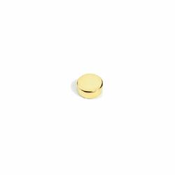 Supermagnet 6x2 mm. guld