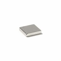 Supermagnet kub 15x15x3 mm.