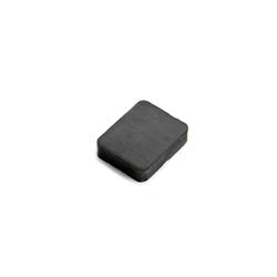 Ferrit magnet 25x20x6 mm. kub