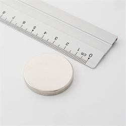 Supermagnet 35x5 mm.