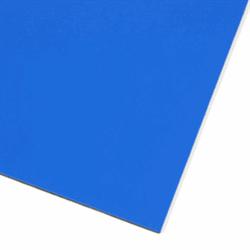 Blått magnetark A4.