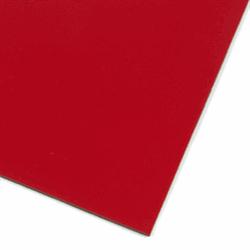 Röd magnetfolie A4
