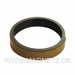 Magnetband grått 19 mm x 1 meter självhäft.