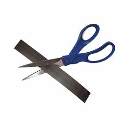 Magnetband grått 25 mm x 1 meter