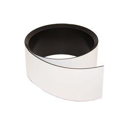 Magnetband vit 40 mm. x 1 meter
