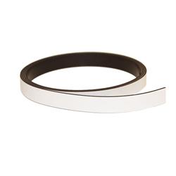 Magnetband vit 10 mm. x 1 meter