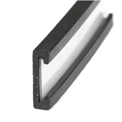 Magnetisk etikett C-profil  40x10 mm.