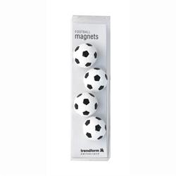 Fotboll magneter 4 st.