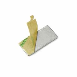 Supermagneter självhäft 40x12x1 mm. 10 st.