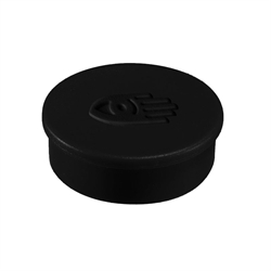 Legamaster magnet svart ø35 mm.