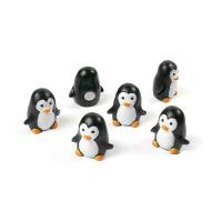 6-pack magnetiska pingviner från Trendform.