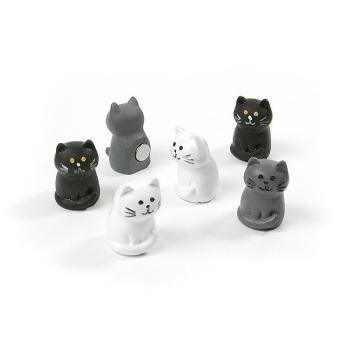 6-pak katter från Trendform Magnets