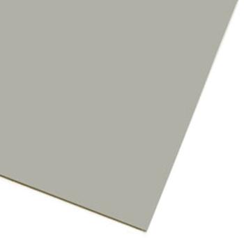 Ljusgrått magnetark av magnetfolie A4