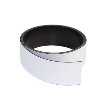 Vit magnetband 30 mm. x 1 meter