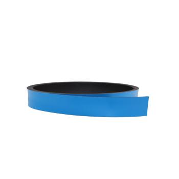 Blått magnetband 10 mm. x 1 meter
