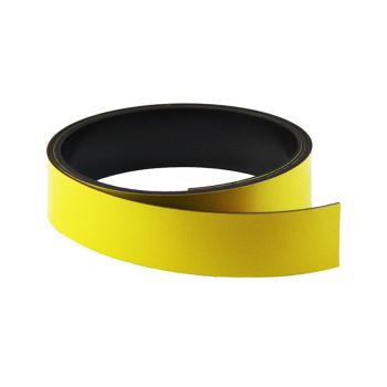 Gul magnetband 20 mm. x 1 meter