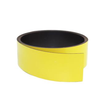 Gult magnetband 30 mm. x 1 meter