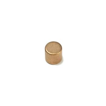 Kobbermagnet disc av neodymium 8x8 mm.