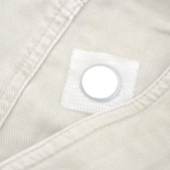 Sy magnet med fyrkantig plastficka 12x2 mm