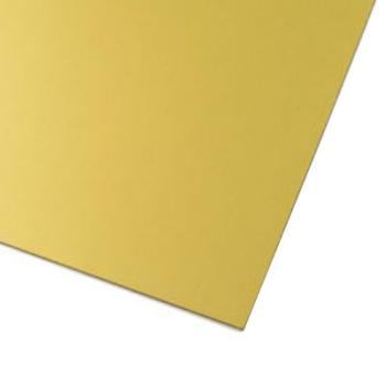 Guld magnetark av magnetfolie A4