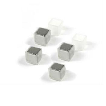 Supermagneter till glastavlor med plasthättor 4-pack från Trendform