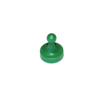 Grön Fia med knuff-magnet.