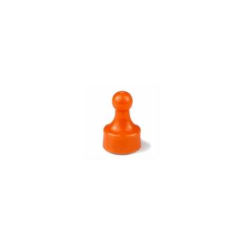 Orange magnet Fia med knuff.