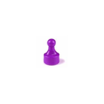 Violett magnet Fia med Knuff.
