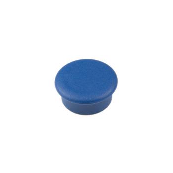 Blå kontorsmagnet rund mini