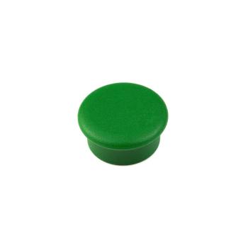 Grön kontorsmagnet rund mini