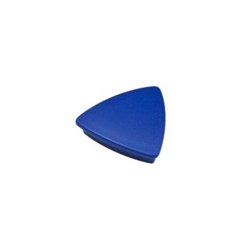 Blå kontorsmagnet triangel