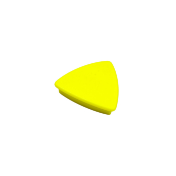 Gul kontorsmagnet triangel