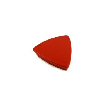 Röd kontorsmagnet triangel