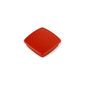 Röd kontorsmagnet kvadrat