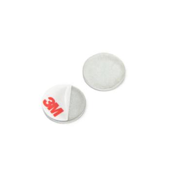 Magnetisk metallplåt 20x2 mm med lim